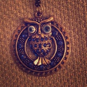 Blue Sapphire Crazy Owl Coocoo For Cocoa Puffs lol